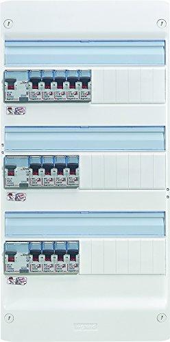 Legrand 093058 Essentiel Spécial Tableau Électrique Équipé pour Logement T5, Blanc