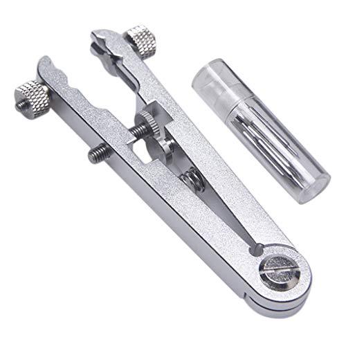 Sharplace Metal Watch Bracelet Remover Spring Bar Alicates Correa De Reloj Ajustador Herramientas - Plata