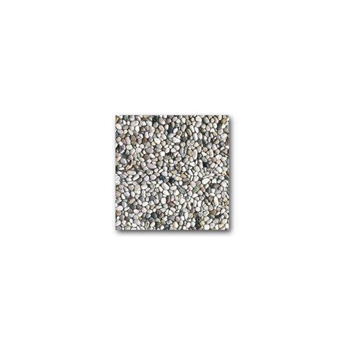 Piastra base 50x50 cm graniglia cemento vari colori per ombrellone giardino casa, Grigio
