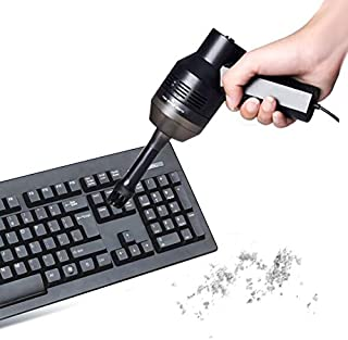 Network peripheral supplies HK-6019A 3.5W Portable USB Powerful Suction Cleaner Computer Keyboard Brush Nozzle Dust Collec...