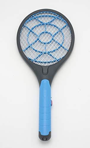 LEYENDAS Raqueta Mosquitos Eléctrico, Raqueta Matamoscas Eléctrica (Azul)
