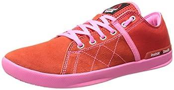 Reebok Women s Crossfit lite lo tr-w China Red/Electro Pink/Steel 6 M US