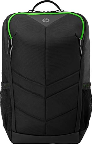 HP Pavilion Gaming Rucksack 400 (wasserfest, 15,6 Zoll) schwarz / grün