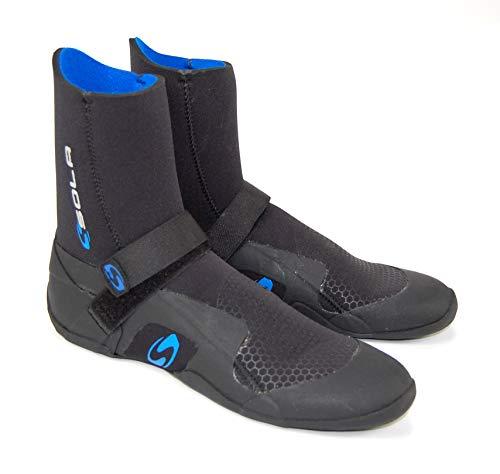 Sola Men's Power 5MM Round Toe Boot, Black/Blue, 42/08