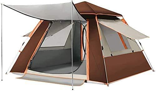 SAIYI Lona Tiendas de campaña, multijugador Engrosamiento Impermeable Protector Solar ventilación Acampar Campo automáticos Tienda de campaña (Color : C)