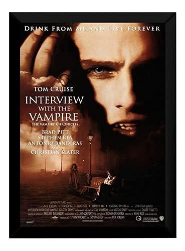 Quadro Filme Classico Terror Entrevista Com O Vampiro P7529