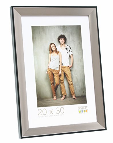 Deknudt Frames, Cornice per Foto, Argento (Silber), 20 x 20 cm