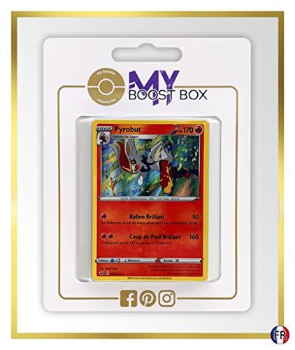 Pyrobut (Cinderace) 35/202 Holo - Myboost X Epée et Bouclier 1 - Box de 10 Cartas Pokémon Francés