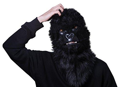 Thumbs Up The Jester - Mr. Gorilla - Masque de Gorille avec Bouche Mobile - Un Brand - 1001485