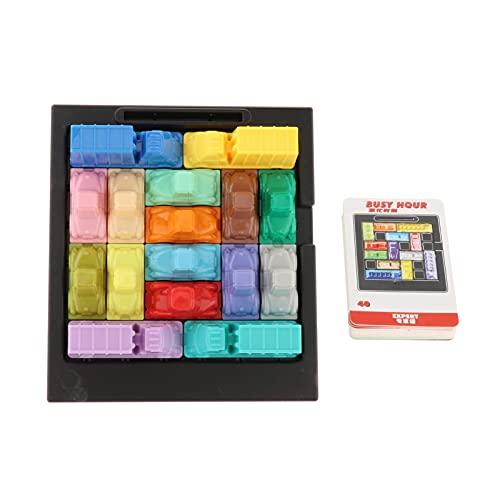 Hellery Eilen Stunde Verkehrs Marmelade Logic Gehirn und Herausforderung Spiel für Erwachsene und Kinder Familie Brettspiel Puzzle Spielzeug - 66816 40 Karten