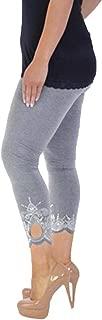 Limsea Women Sport Yoga Print Workout Mid Waist Plus Size Running Pants Bootcut Fitness Elastic Leggings