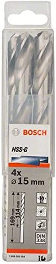 Bosch 2608585594 Metal trend rank Drill 4 Max 48% OFF Hss-G Pcs Bit