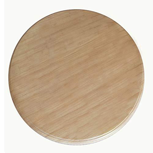 Piatto Girevole Tondo in Legno (60-100 Cm) - Grande Vassoio Girevole Lazy Susan,Vassoio da Servizio da Tavola,Impermeabile Robusto,8 Colori Disponibili