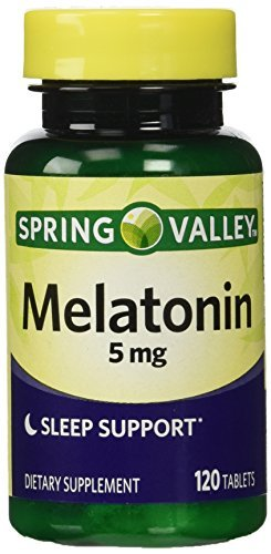 Spring Valley Melatonin 5mg Twin Pack (Two 120ct bottles) by Spring Valley