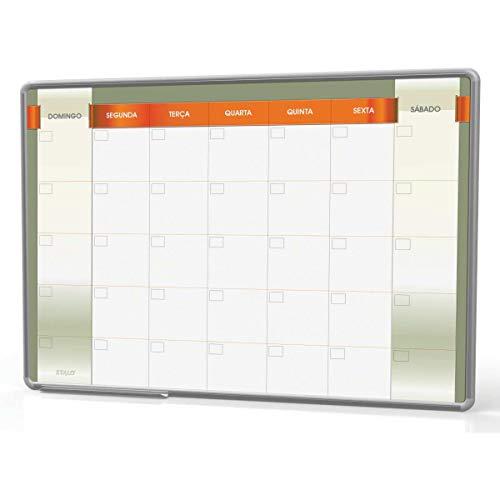 Quadro Branco Stalo Planejamento Mensal 60X40 8980 24036
