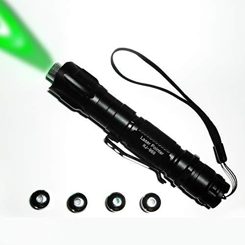 UChic 3Pcs Purple Green Red Pointer Visible Beam Teaching Presenter Light Pen Powerful Pen