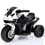 Costzon Kids Ride on Motorcycle, 6V Battery Powered 3 Wheels Motorcycle Toy for Children Boys &...