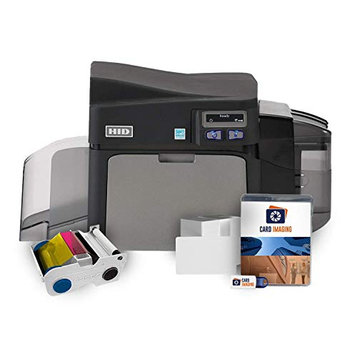 Fargo DTC4250e Single-side ID Card Printer & Supplies...