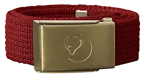 Fjällräven kinder canvas Brass riem, Lava, One Size