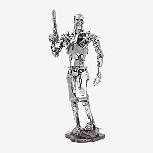 Metal Earth Fascinations Premium Series The Terminator T 800 Endoskeleton 3D Metal Model Kit product image