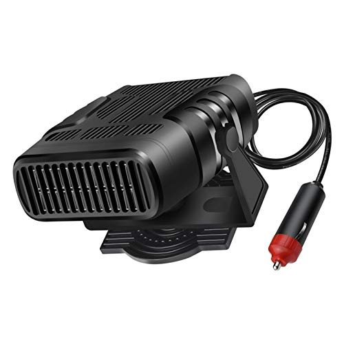 gilivableskr Calentador Portátil para Automóvil 12V24V Ventilador De Calentador Automático Multifunción con Desempañador Calefacción Y Refrigeración De Doble Uso Enchufe Encendedor De Worth Buying