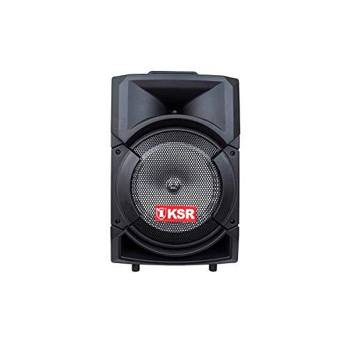 Kaiser Bafle Recargable de 8' con Bluetooth y Micrófono. 6,200W PMPO