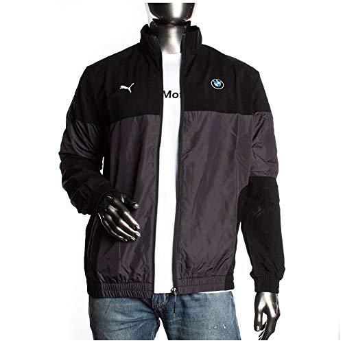 Puma BMW MMS Woven Jacket Herren Woven Jacke Schwarz, Größenauswahl:M