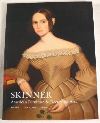 Skinner. American Furniture & Decorative Arts. Sale 2365 June 3, 2007, Boston.