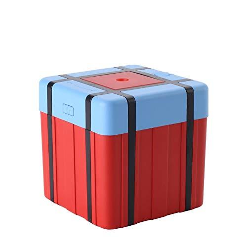 ZDY Difusor Ultrasonico, Difusor De Aromaterapia De Caja De Avión, Difusor De Aceite Esencial Inalámbrico Recargable USB Aroma Inalámbrico/Difusores Aromáticos Portátiles (Color : Orange)