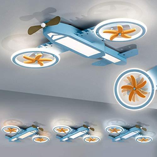Kinderzimmerlampe LED Deckenleuchte Flugzeug Deckenlampe Kinderlampe Kreativität Kinderleuchten Dimmbar Trikolore Kindlich Cartoons Junge Mädchen Schlafzimmer Wohnzimmer Kindergarten Decke Lampen