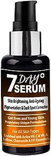 7 Day Serum - Youthful Glow Facial & Skin Serum