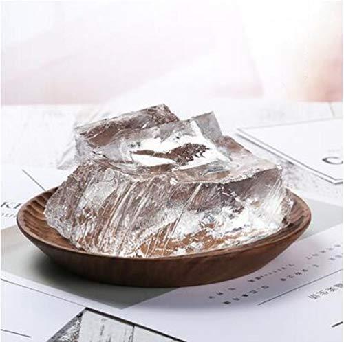 Vela de cera de gelatina transparente de 1000g, materia prima, vela de cristal DIY, vela de cera perfumada hecha a mano, suministros, 1 kg