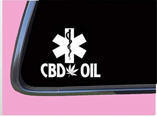 DKISEE Sticker Waterdichte Vinyl 6 CBD olie Medic Sticker TP 854 vinyl sticker medische stickers Autos, Ramen, Spiegels, laptops, Mobiele Apparaten Decal Sticker