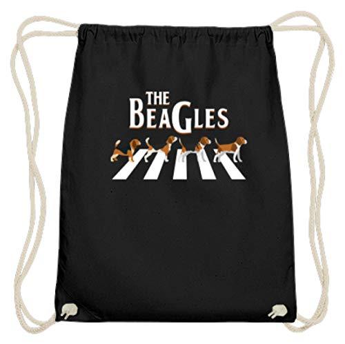 Chorchester Die Beagles Für Alle Hundeliebhaber - Baumwoll Gymsac -37cm-46cm-Schwarz