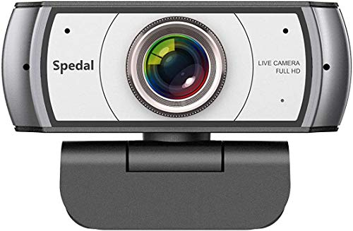 Wide Angle Webcam,120 Degree View Video Conference Distance Learning Remote Teaching Camera, Full HD 1080P Live Streaming Web Cam with Built-in Microphone for Mac, PC, Laptop, Desktop