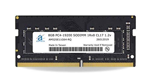 Adamanta 8GB (1x8GB) Laptop RAM Upgrade Compatible for Dell Alienware, Inspiron, Latitude, Optiplex, Precision, Vostro & XPS DDR4 2400Mhz PC4-19200 SODIMM 1Rx8 CL17 1.2v P/N: SNPMKYF9C/8G