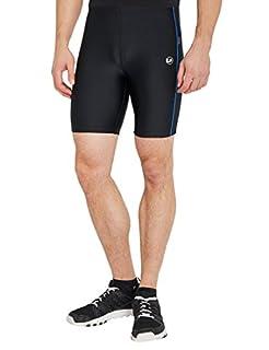 Ultrasport Pantalon Fitness, Court Short de sport Homme, Noir/Bleu Victoria, Large (B006HCSGEW)   Amazon price tracker / tracking, Amazon price history charts, Amazon price watches, Amazon price drop alerts