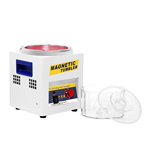 ZauberLu 18CM polijstmachine voor sieraden T185 polijstmachine met magneetroller slijpmachine unidirectioneel magneetveld
