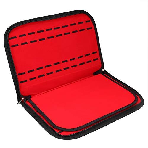 Caja de Almacenamiento fácil de Usar Caja de Almacenamiento Contenedor de Reloj 20 Ranuras Sin Polvo para Organizador de Escritorio
