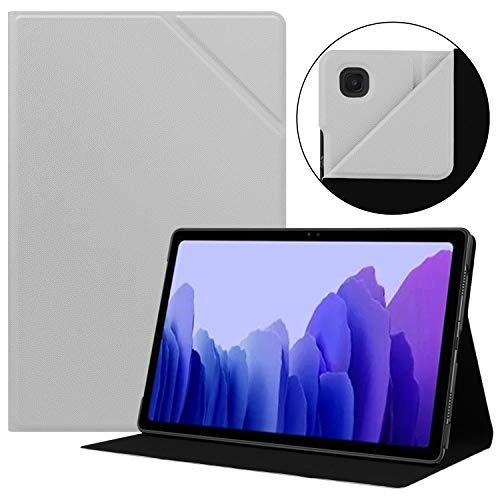 HoYiXi Custodia per Samsung Galaxy Tab A7 10.4 2020 Ultra Sottile Case in pelle Cover con Supporto Funzione Custodia di Tablet per Samsung Galaxy Tab A7 2020 T500   T505 - grigio