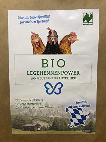 Falter´s Bio Legehennenpower - Luzerne-Kräuter Mix - Qualität aus Bayern - ohne Zusätze (5kg)
