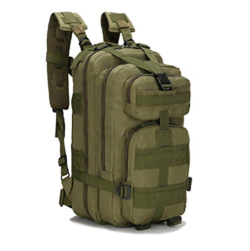 Jipemtra Tactical First Aid Bag MOLLE EMT IFAK Backpack Trauma First Aid Responder Medical Backpack Utility Bag Military Tactical Rucksack Emergency (Green)