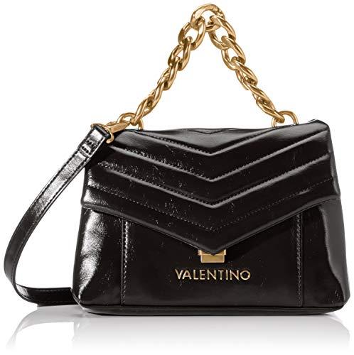 Mario Valentino Valentino by Damen Grifone Umhängetasche, Schwarz (Nero), 10x16x23 cm