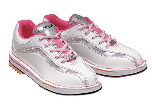HI-SP ボウリング シューズ HS-925 ホワイト・ピンク 23.5cm ハイ スポーツ ボウリング用品 靴 ボーリング グッズ