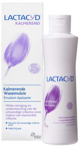 Lactacyd Kalmerende Wasemulsie - Wasmulsie voor de uitwendige intieme zone - Intiemverzorging - 250 ml