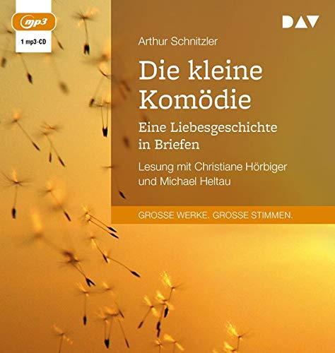 Die kleine Komödie. Eine Liebesgeschichte in Briefen: Lesung mit Christiane Hörbiger und Michael Heltau (1 mp3-CD)