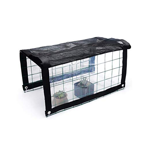 YYCX Plant Awning Garden Plant Shed Garden Polytunnel Mini Plant Greenhouse Plastic Iron Frame Rain-proof and Sun-proof Shed for Garden Plant Potted Plants