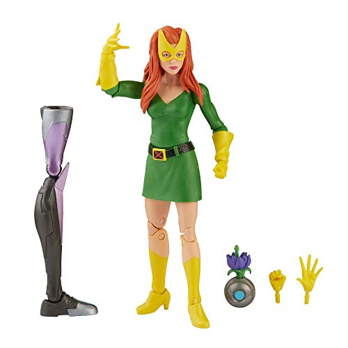 Hasbro Marvel Legends Series X-Men 6-inch Collectible Jean Grey Action Figure Toy, Premium Design And 3 Accessories, Ages 4 And Up