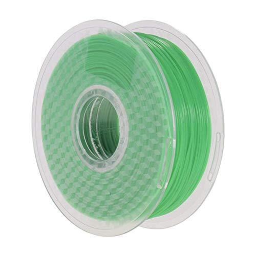 CLJ-LJ La Temperatura de Color Cambio de Color Verde a Amarillo PLA Filamento 1 kg / 2,2 Libras Impresora 3D Carrete de filamento 1,75 mm Precisión +/- 0,02 mm for la impresión 3D