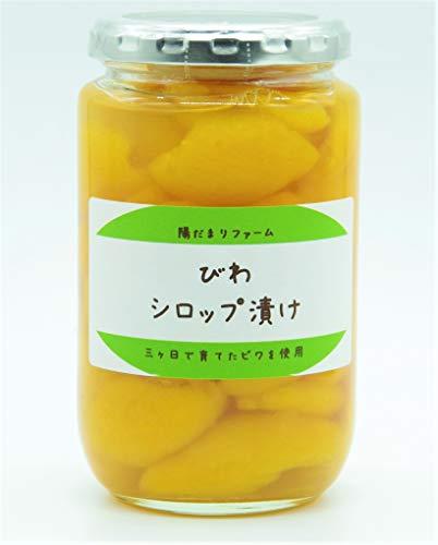 びわのシロップ漬け 380g 静岡県浜松市三ヶ日町産